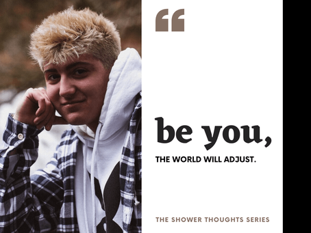Be You - The World Will Adjust: An Interview with Sam Giardina