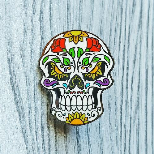 Sugar Skull - September Artist Pin 2019