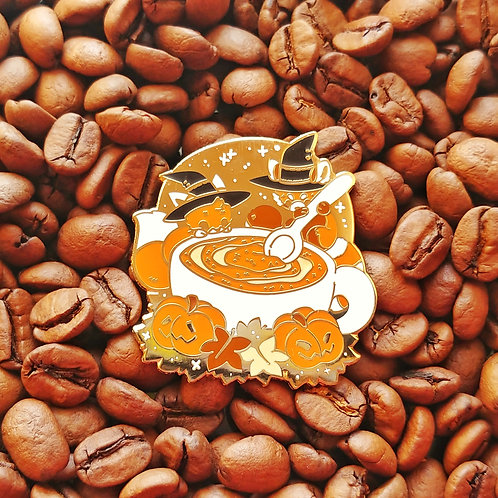Pumpkin Spice EVERYTHING! - October Theme Pin 2019