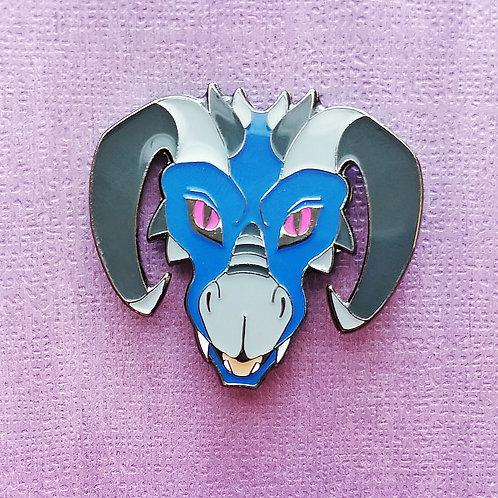 Blue Dragon - June Artist Pin 2019