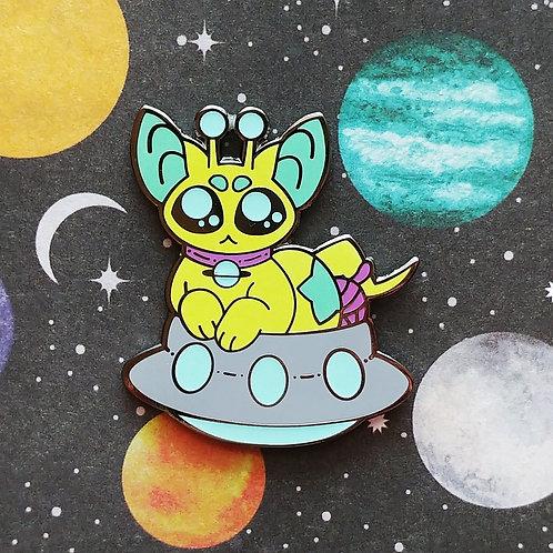 Alien Cat - November Artist Pin 2019