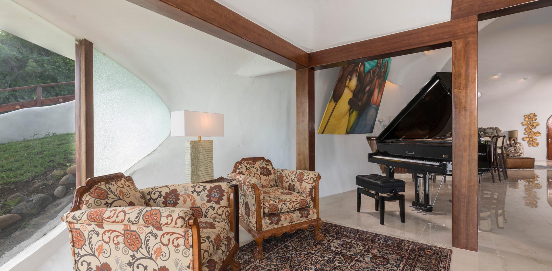 A quiet corner in the Great Room