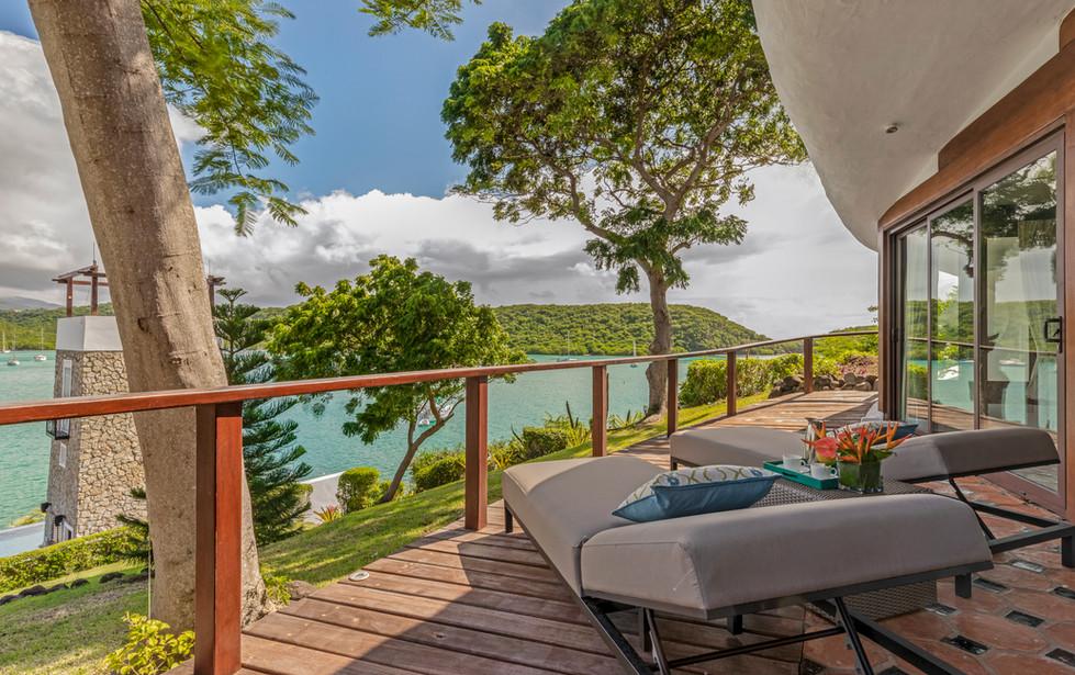 Jacuzzi suite private terrace