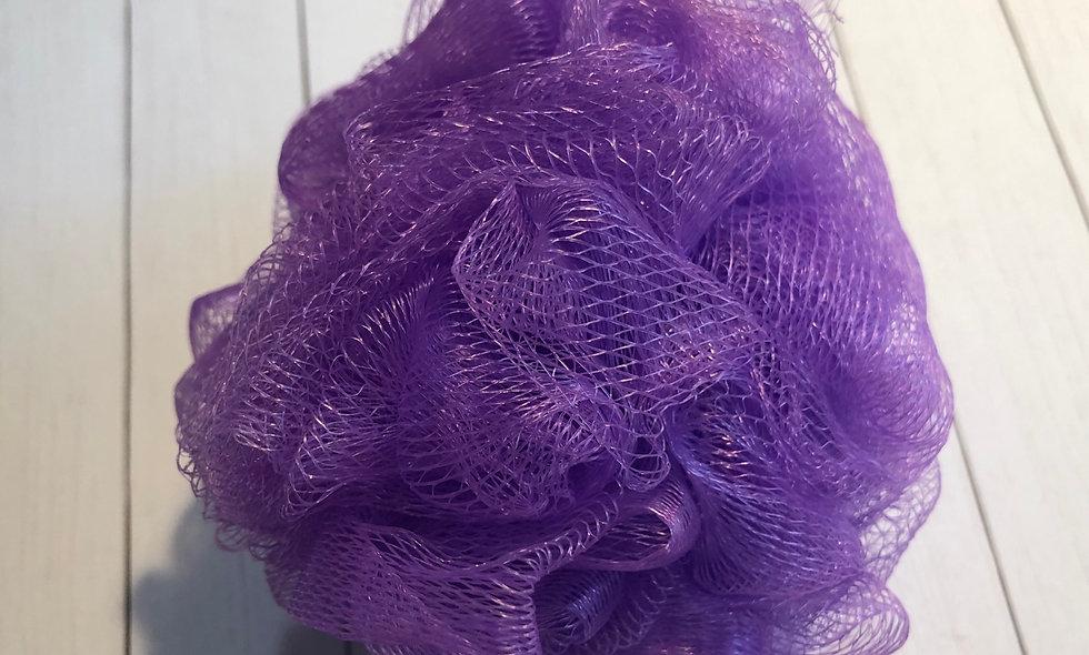 Bath Pouf - Purple (50g)