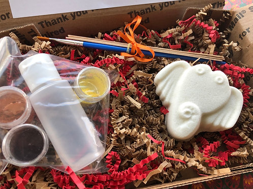 Paint Your Own Bath Bomb Kit - Elephant