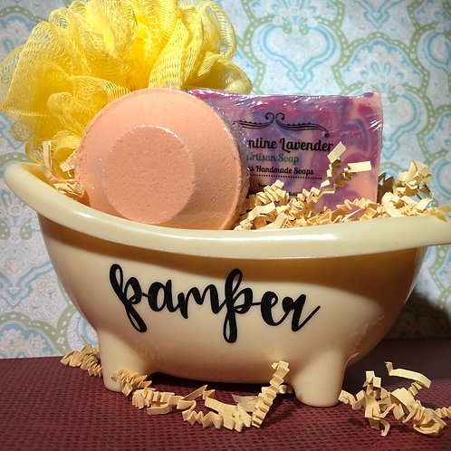 Clementine Lavender Soap / #EnergyBlend Shower Steamer Combo