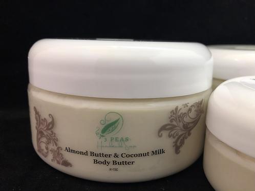 Almond Butter & Coconut Milk Body Butter