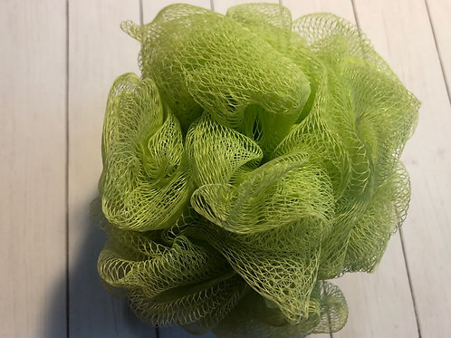 Bath Pouf - Light Green (50g)