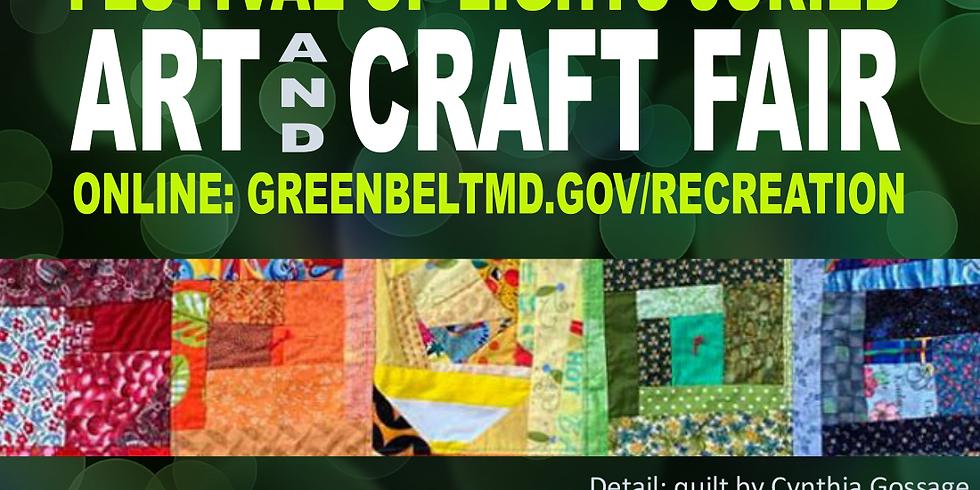Festival of Lights Juried Art & Craft Fair ONLINE