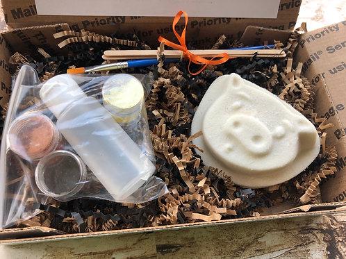Paint Your Own Bath Bomb Kit - Pig