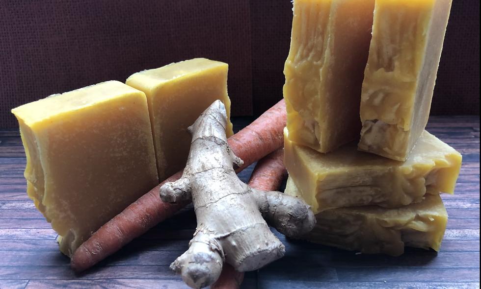 Ginger Carrot Soap