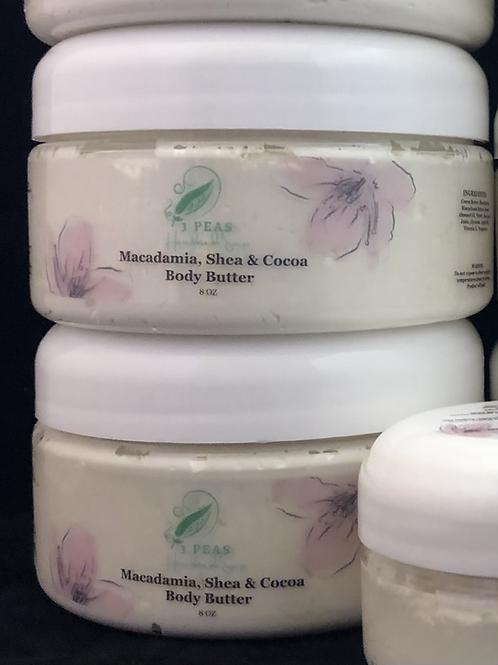 Macadamia, Shea & Cocoa Body Butter