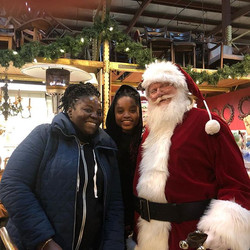 We LOVE Santa! Come on down to Community