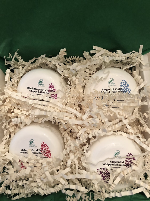 Whipped Shea Butter Gift Set - Mild & Fruity