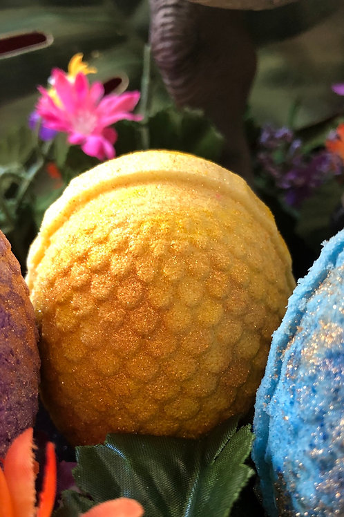 Yellow Dinosaur Egg