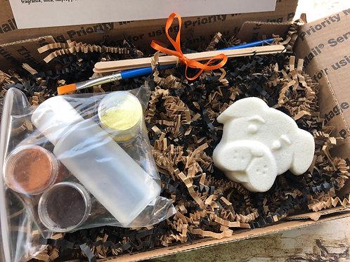 Paint Your Own Bath Bomb Kit - Dog