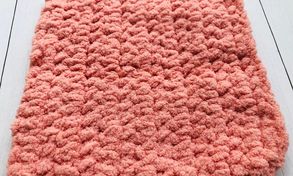 Crocheted Washcloth (Peach))