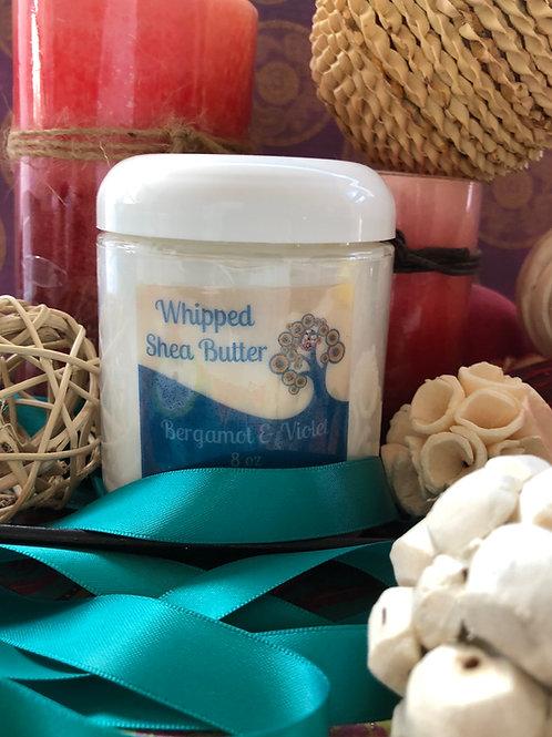 Bergamot Violet Whipped Shea Butter