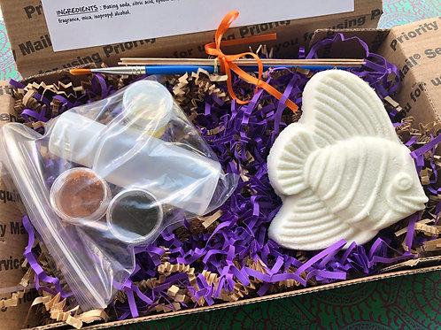 Paint Your Own Bath Bomb Kit - Fish 1