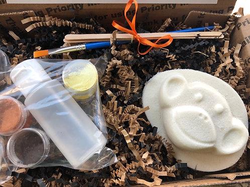Paint Your Own Bath Bomb Kit - Monkey