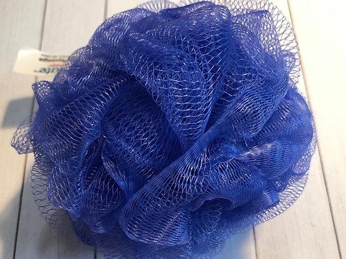 Bath Pouf - Medium Blue (50g)