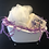 Thumbnail: White Tub with Silver Claw Feet Gift Sets
