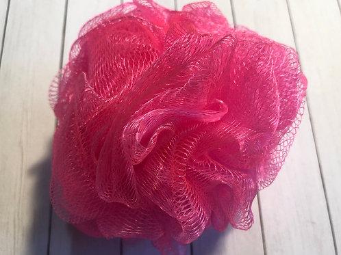 Bath Pouf - Hot Pink (50g)