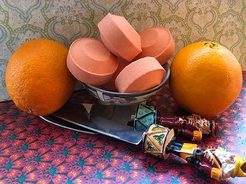 Sweet Orange, Grapefruit & Lime Shower Steamers (1 Disk)