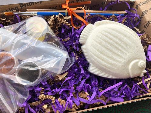 Paint Your Own Bath Bomb Kit - Fish 2