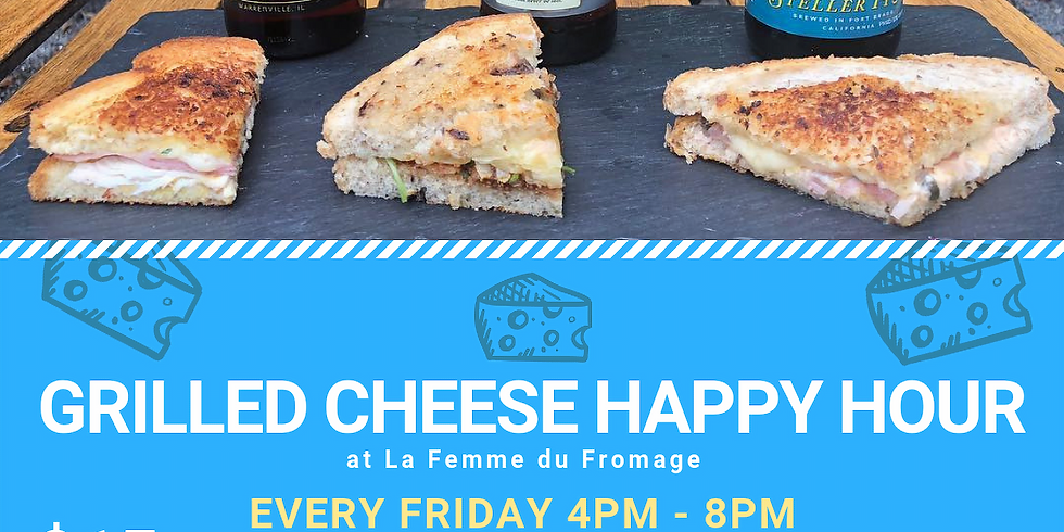 Grilled Cheese & Beer Flight Nights - Every Friday!
