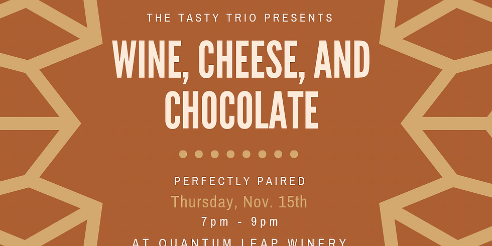 Wine, Cheese, and Chocolate: Perfectly Paired!
