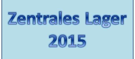 Zentrales Lager 2015 Ausblick
