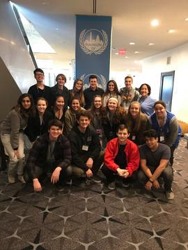 2018—NAIMUN Conference (Georgetown Univ., Washington DC)