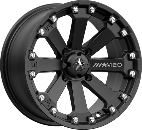 MSA Wheels - M20 Kore Matte Black