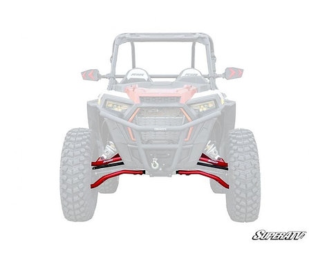 "Polaris RZR XP Turbo High Clearance 2"" Forward Offset A-Arms"