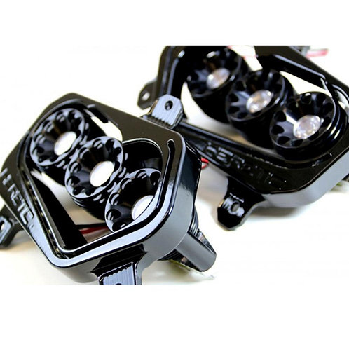 Heretic Studio Polaris Rzr XP 900/ RZR 800 Headlights ('10-'14)