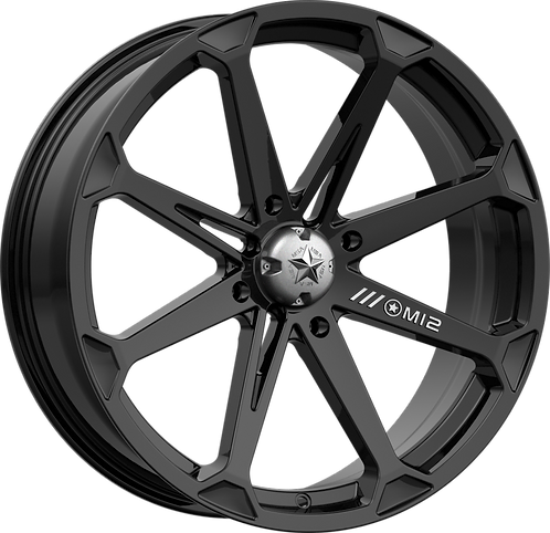 MSA Wheels - M12 DIESEL Gloss Black