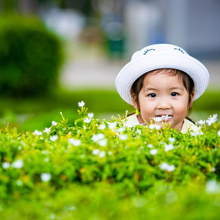 Outdoor Family Photography at Marina Barrage, Singapore
