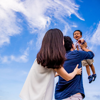 Outdoor Family Photography at Upper Seletar Reservoir, Singapore