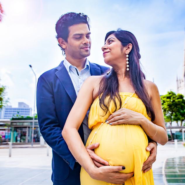 Outdoor Maternity Shoot, Singapore