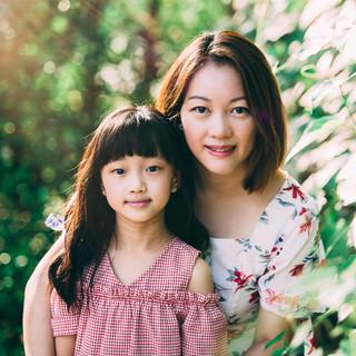 Outdoor Family Photography at Wheeler's Estate, Singapore