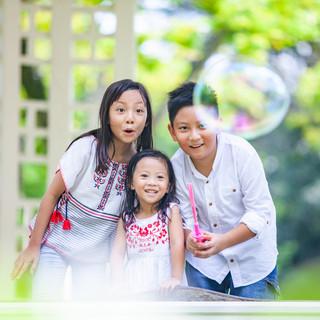 Outdoor Family Photography at Singapore Botanic Gardens