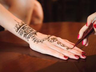 Reacción alérgica de contacto a un tatuaje de Henna