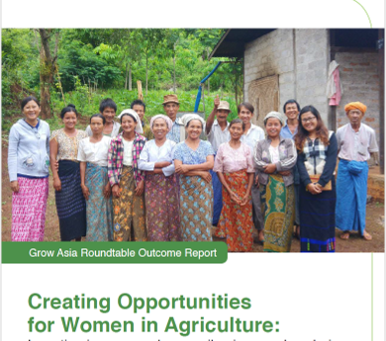 Report: Creating Opportunities for Women in Agriculture