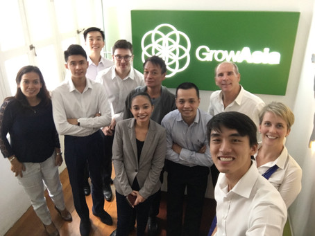 Practical learning at the Grow Asia Country Partnership Secretariat Workshop