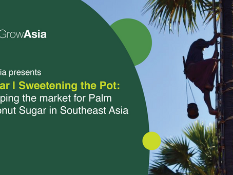 Developing markets for Palm and Coconut Sugar in Southeast Asia