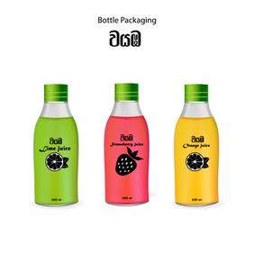 Printed Bottle Design