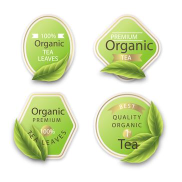 Tea Packet Labels
