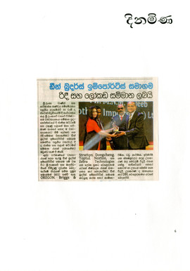 Dinamina News paper