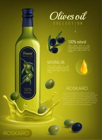Bottle Design for Oliver Oil